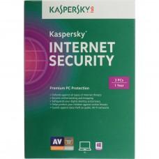 Kaspersky Internet Security 3 User 2 Years for Windows